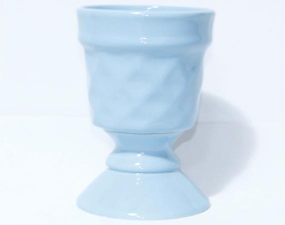 Taça Canelada -  Azul Claro