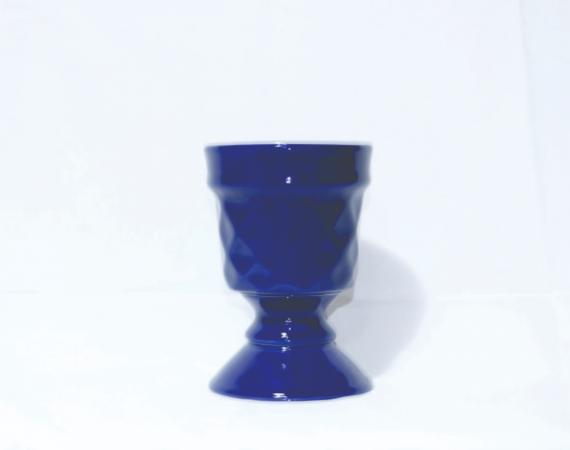 Taça Canelada - Azul Royal