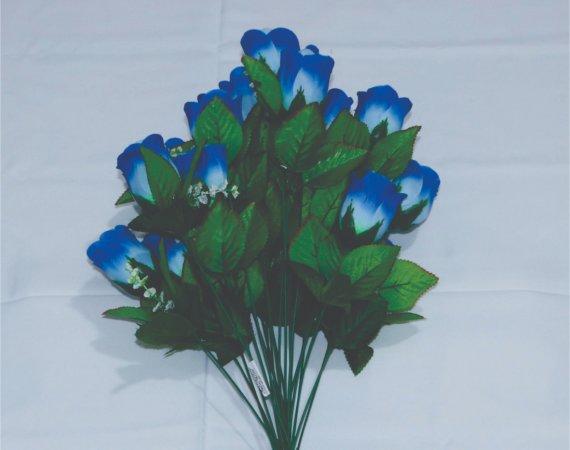 Flor Buque Azul