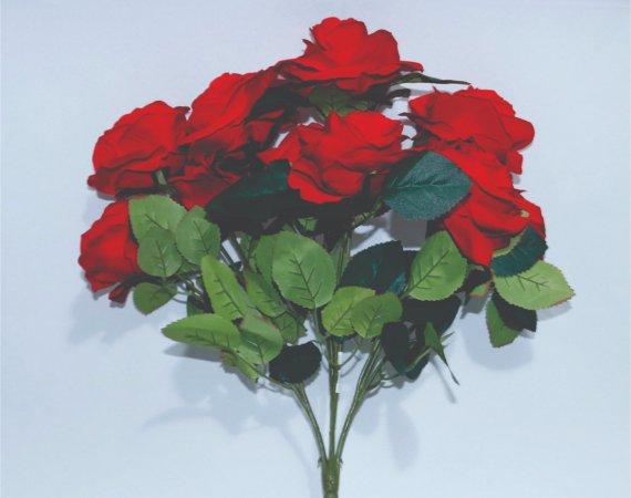 Flor Buque Rosa Vermelha