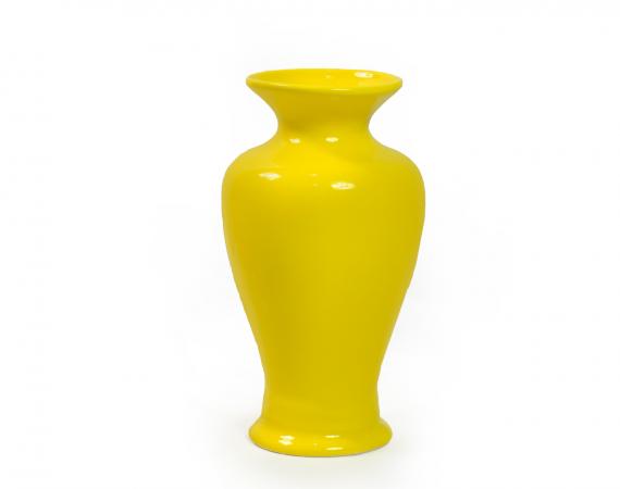 Vaso Alto Bojudo - Amarelo
