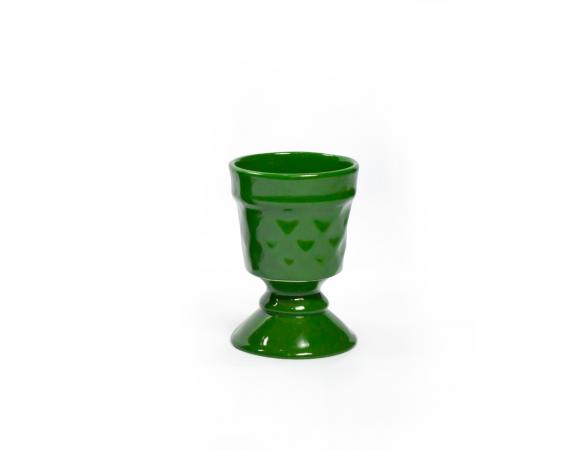 Taça Canelada - Verde