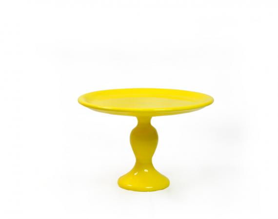 Boleira Lisa Alta - Amarelo
