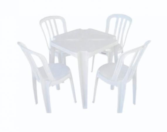 Jogo de Mesa - 4 cadeiras