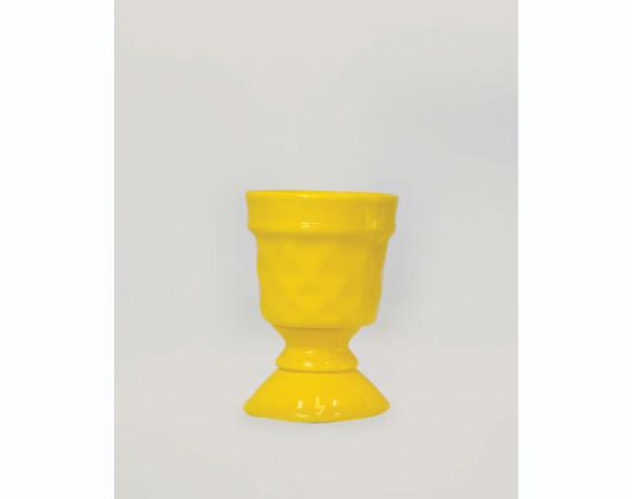 Taça Canelada - Amarelo